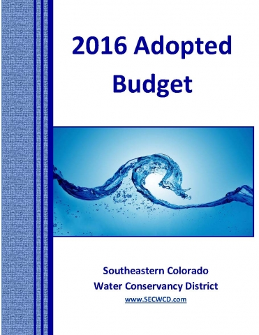 2016 Adopted Budget