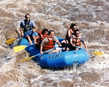 Rafting on the upper Arkansas River