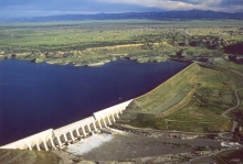 Pueblo Dam and Reservoir