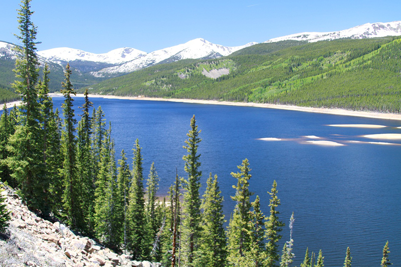 Twin Lakes, Fryingpan-Arkansas Project , photos property of Southeastern Colorado Water Conservancy District
