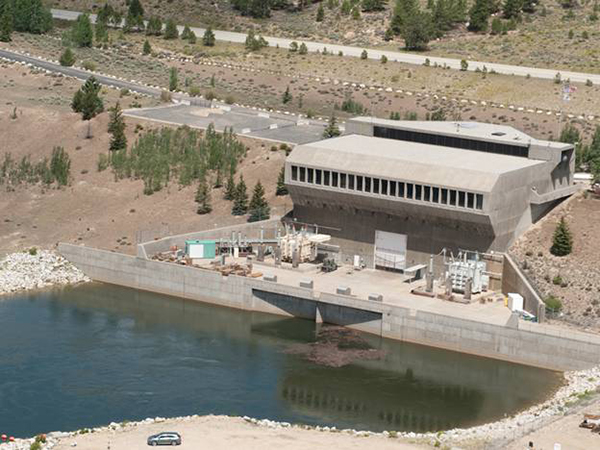 Mt. Elbert Powerplant, Fryingpan-Arkansas Project, Property of United State Bureau of Reclamation